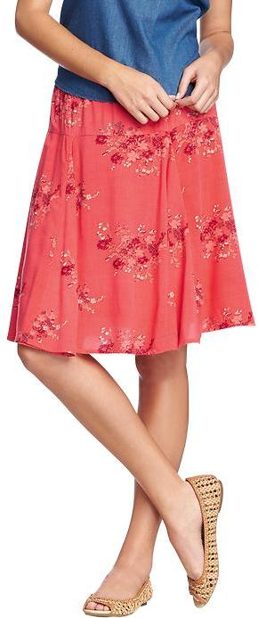 Old Navy Women's Printed A-Line Skirts