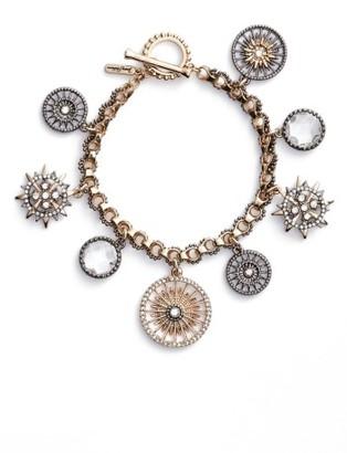 Women's Jenny Packham Charm Bracelet $88 thestylecure.com