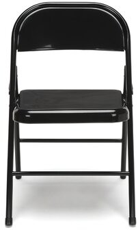 Essentials Metal Folding Chair