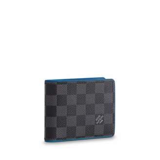 3c367fc086f1 Louis Vuitton Damier Graphite Canvas Neon Multiple Wallet N64434