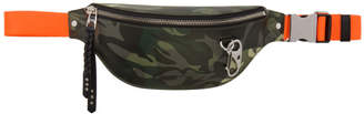 Alexander McQueen Multicolor Camouflage Harness Belt Bag