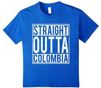 Straight Outta Colombia T-shirt Colombian Home