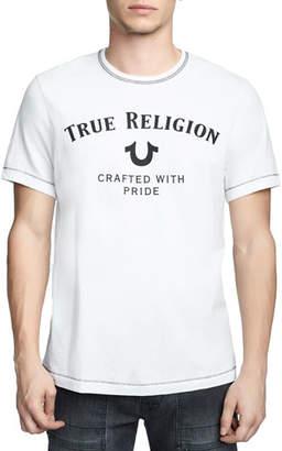 True Religion Men's Heritage Logo T-Shirt