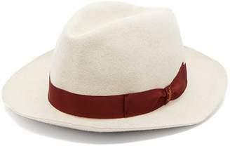 Borsalino Felted Fedora Hat - Mens - Cream