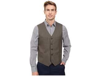 Perry Ellis Regular Fit Pattern Twill Suit Vest Men's Vest