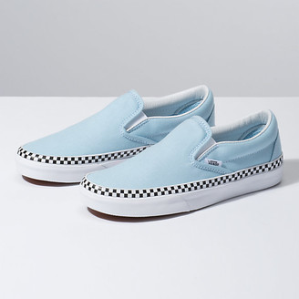 Check Foxing Slip-On