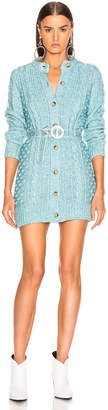 ALEXACHUNG A Line Cardigan Dress