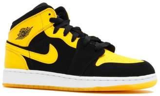 Nike Jordan Kids Air Jordan 1 Mid BG /White Basketball Shoe 6.5 Kids US