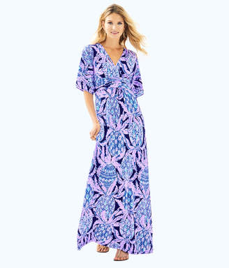 Lilly Pulitzer Womens Parigi Maxi Dress