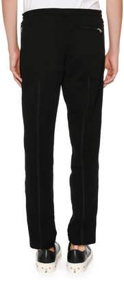 Alexander McQueen Cotton Jogger Sweatpants
