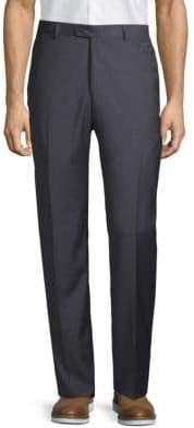 Hickey Freeman Printed Wool Pants