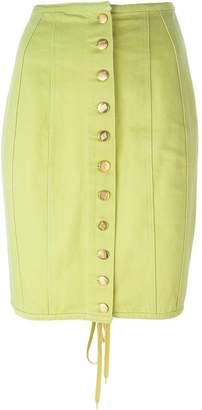 Jean Paul Gaultier Pre-Owned buttoned denim skirt