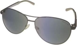 Kenneth Cole New York Kenneth Cole Reaction Half Rimless Aviator Sunglasses, /Smoke Gradient KC1098 10B