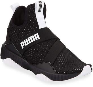 Puma Defy Knit High-Cut Sneakers
