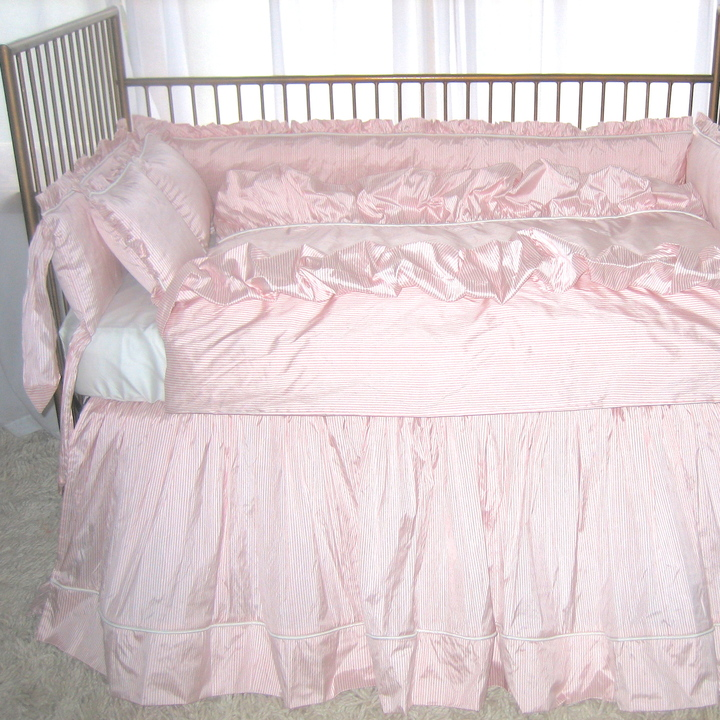 Lulla Smith Park Avenue Crib Bedding