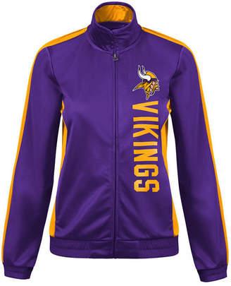 G-iii Sports Women Minnesota Vikings Backfield Track Jacket