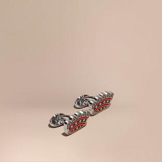Burberry Crown Cufflinks $190 thestylecure.com