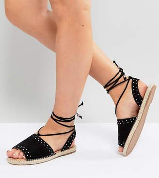 Asos Design JASIA Wide Fit Espadrille Sandals