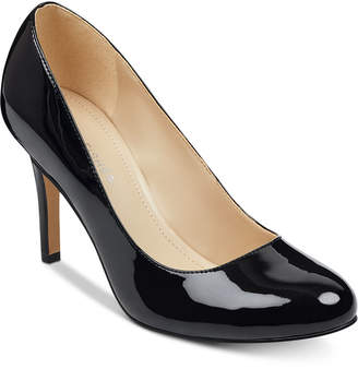 Marc Fisher Chris Round-Toe Pumps Women Shoes
