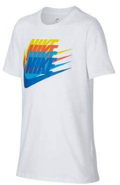 Nike Boy's Logo Cotton Jersey Tee