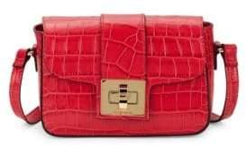 Mario Valentino Yasmine Crocodile Crossbody Bag