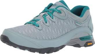 Ahnu Women's W Sugarpine II AIR MESH Hiking Shoe Grey Mist 8.5 Medium US