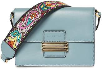 Etro Small Rainbow Strap Leather Shoulder Bag