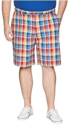 Nautica Big Tall Plaid Shorts Men's Shorts