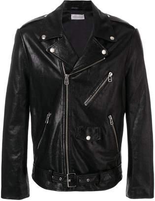 Faith Connexion zipped biker jacket