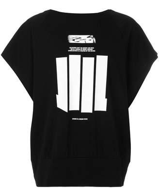Niløs printed raglan sleeve T-shirt