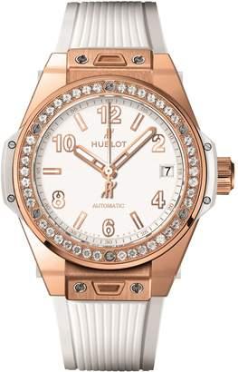 Hublot Big Bang One Click 39mm King Gold White Diamond Watch