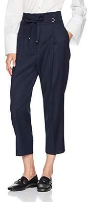 Sisley Women's Cropped Wide Leg Pants Trouser,(Manufacturer Size: 46)