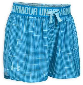 Under Armour Girls' Printed Shorts - Big Kid