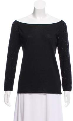 Fabiana Filippi Sequin Knit Top w/ Tags