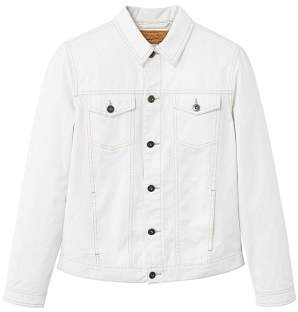 Mango man MANGO MAN White denim jacket