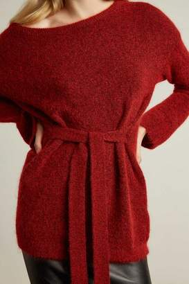 Genuine People Oversized Mohair Blend Sweater