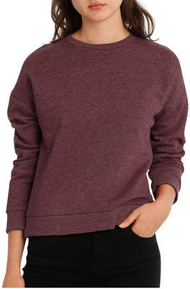 Miss Shop Long Sleeve Basic Crew Neck Sweat