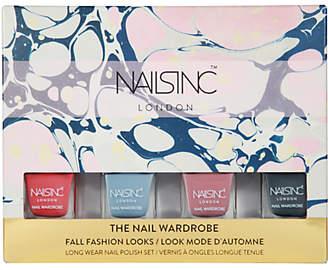Nails Inc The Nail Wardrobe Nail Polish Set