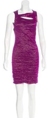 Yigal Azrouel Ruched Mini Dress