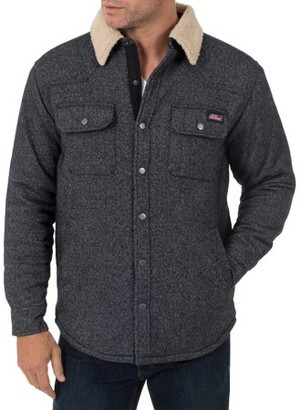 Dickies Big Men's Jacquard Sherpa Shirt Jacket