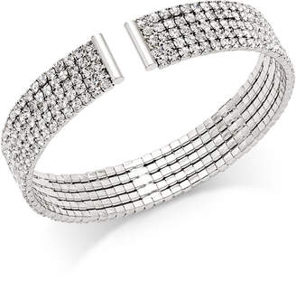 INC International Concepts I.n.c. Crystal Flex Bracelet, Created for Macy's