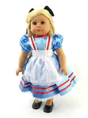 Fashion World American Alice Doll Dress