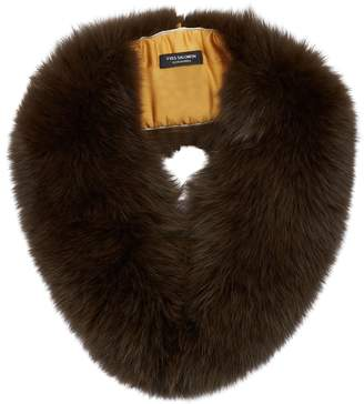 Yves Salomon Fox Fur Collar