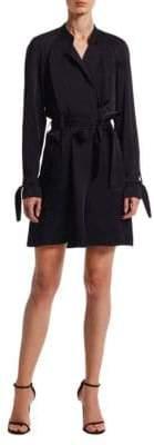 A.L.C. Kendall Satin Wrap Dress