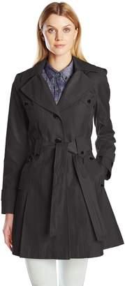 Via Spiga Women's Skirted Single Breasted Trench Coat