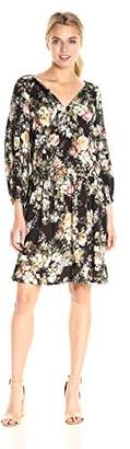 Velvet by Graham & Spencer Women's Floral Print Peasant Dress
