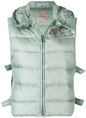 Ermanno Scervino sleeveless puffer jacket