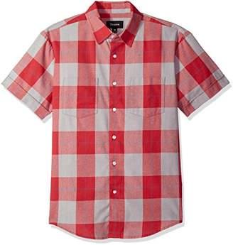 Brixton Men's Branson Relaxed Fit Short Sleeve Woven Shirt