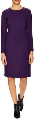 Lafayette 148 New York Oneforty8 By Side Pleated Sheath Dress