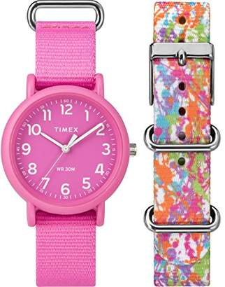Timex Unisex TWG018100 Weekender Color Rush Box Set